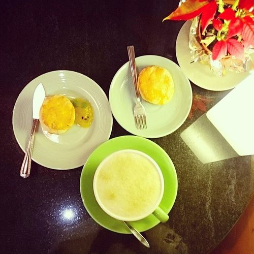 終於來深夜甜點小墊子 司康always好吃🍰 Hsinchu Im_mat_cafe 小墊子 甜點 café 深夜甜點