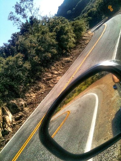 Mulholland Drive Snake Mirror Driving