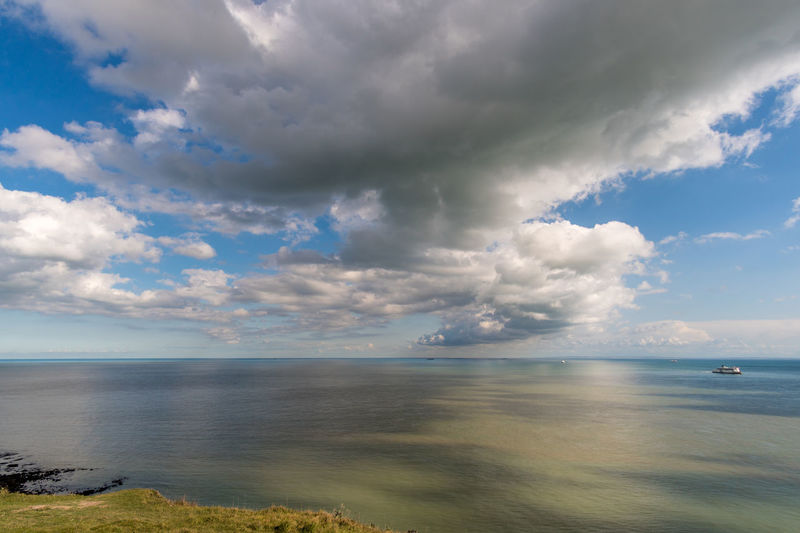 Walimex 12mm Beauty In Nature Cloud - Sky Day Horizon Over Water Nature No People Outdoors Scenics Sea Sky Tranquil Scene Tranquility Water White Cliffs Of Dover