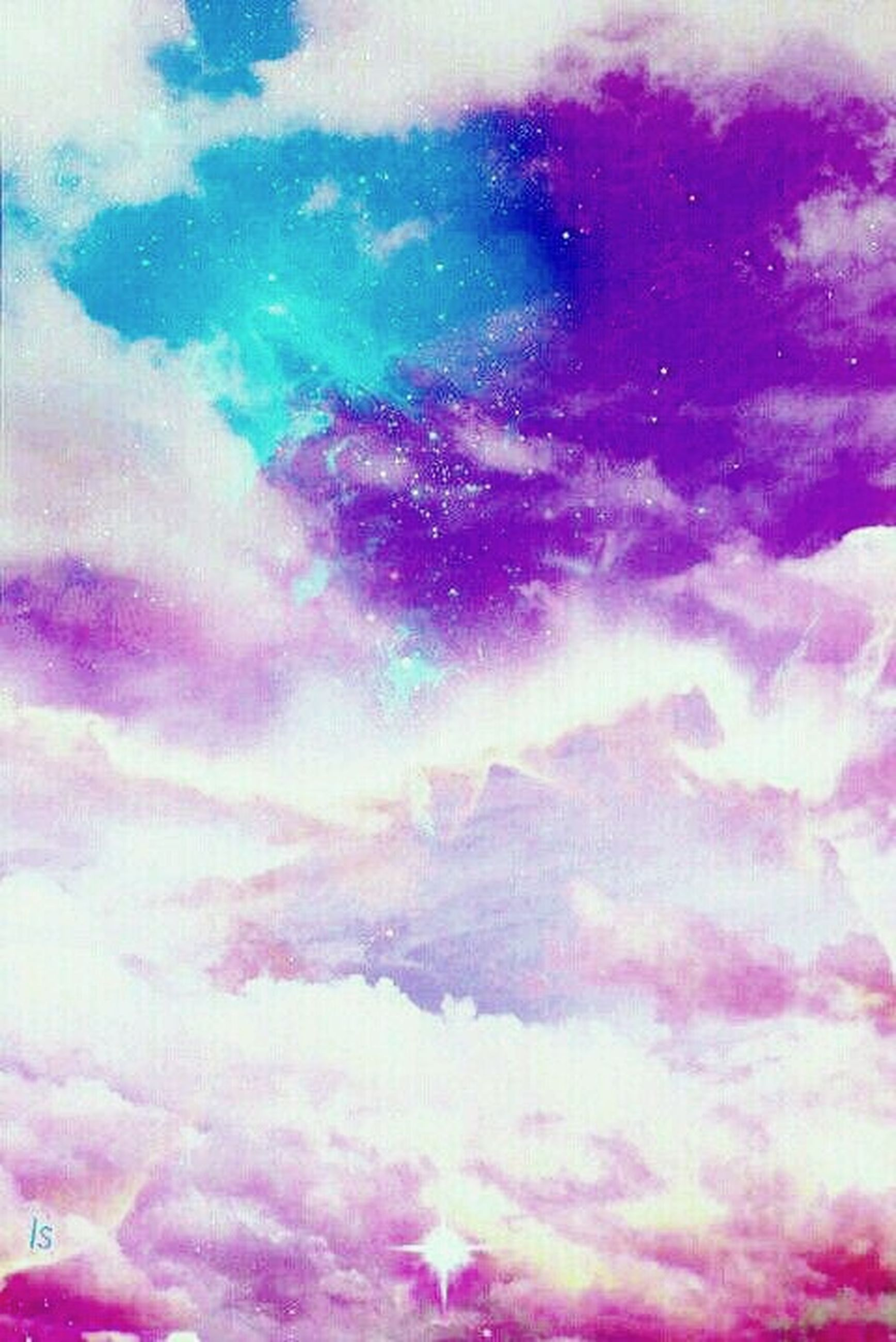 cloud - sky, sky, abstract, backgrounds, multi colored, no people, full frame, pink color, sky only, purple, nature, beauty in nature, low angle view, outdoors, watercolor painting, scenics, day