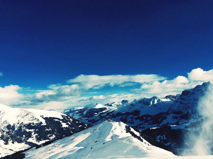 Skiing Winter