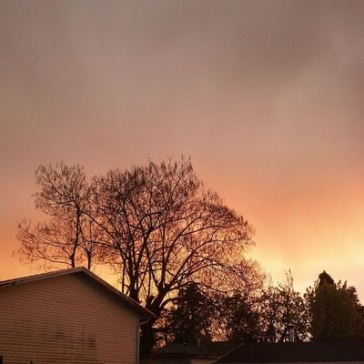 Eerie Sky at my house. Weather Unedited Parkroseoregon DroidRazr