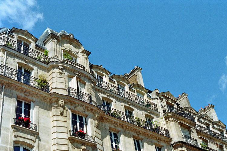 Paris Low Angle