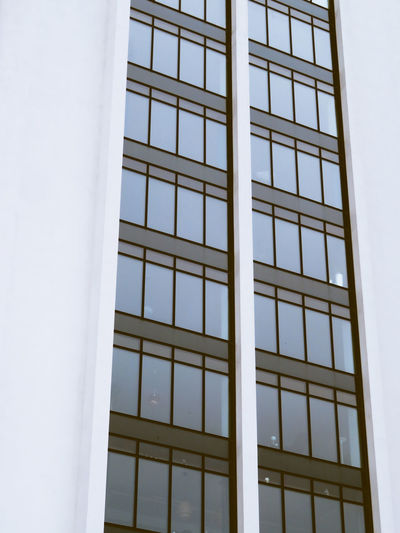 City Window Façade Office Architecture Building Exterior Close-up Built Structure Tall - High
