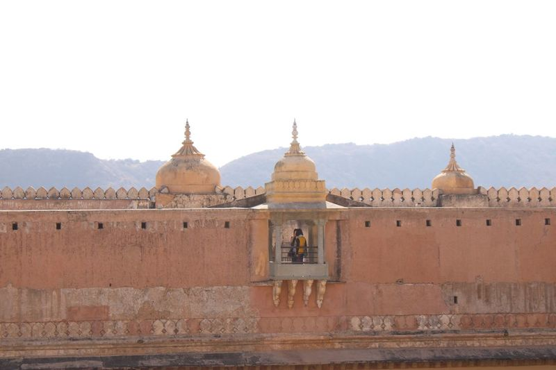 Amer fort EyeEm Selects Architecture Religion Built Structure Travel Destinations Belief History The Past Building Exterior Travel Dome Clear Sky Tourism Ancient