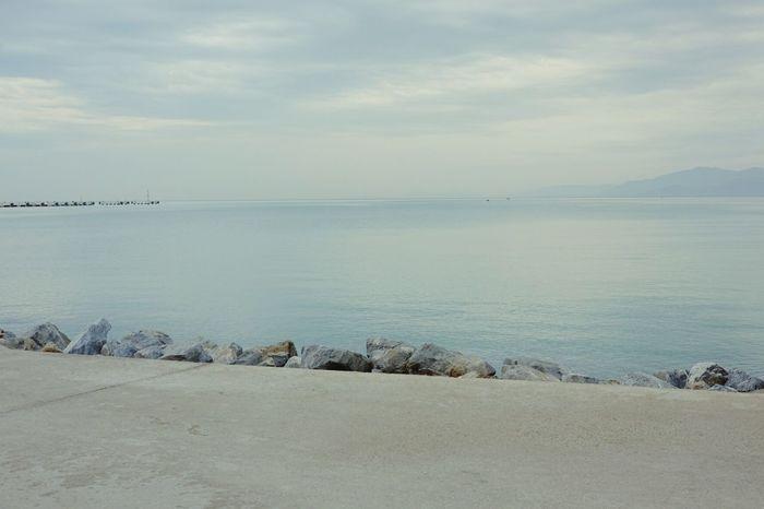 Sae Bule Aegean Sea Silent Soft Trip Photo Travel Photography Turkey Horizon Over Water Kusadasi