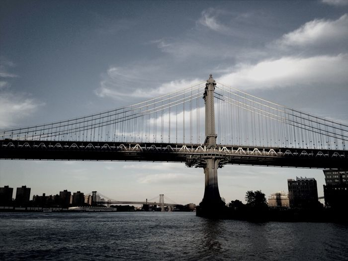 Brooklyn Bridge  In Brooklyn