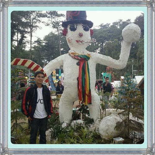 Snowman Christmasvillage Baguiocountryclub LastDay