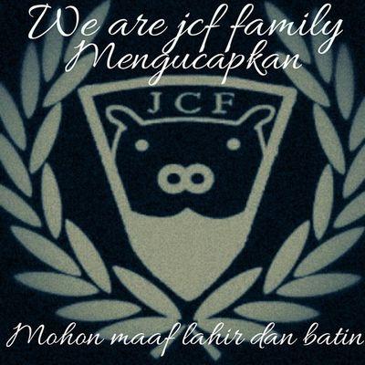 We are Jcf family marhaban ya ramadhan mohon dibukakan pintu maaf yg sebesar besarnya 🙏✌