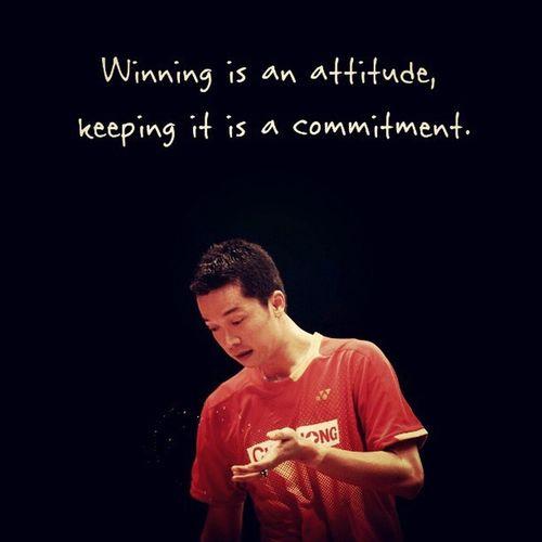 Winning is an attitude 🏆🇮🇩 INDONESIA Badminton BWF