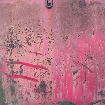 Architecture Backgrounds Built Structure Close-up Day Dirty Full Frame No People Outdoors Pink Color Red Run-down Rusty Textured  Weathered