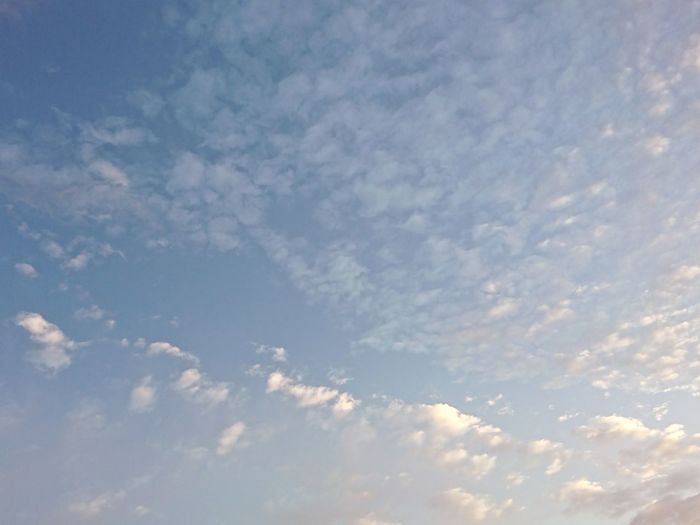 Low Angle View Outdoors Cloud - Sky Sky No People Nature Day Beauty In Nature Astronomy Morning Morning Sky Clouds And Sky Sky Only MorningClouds