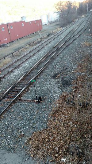Vermont Railroad Track Brattleboro