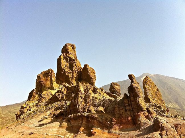 Ancient Civilization Arid Climate Brown Canary Islands Cliff Day Geology Geometry Natural Pattern Nature No People Outdoors Physical Geography Rock Rock - Object Rock Formation Rough Stone Teide National Park Tenerife Textured  Tranquility