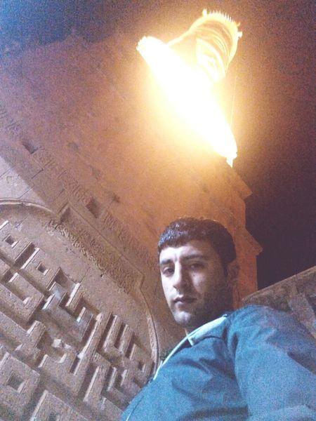 Mardin ulu camiiden gece görünüm Mosque Ulucamii Mardin Eskimardin