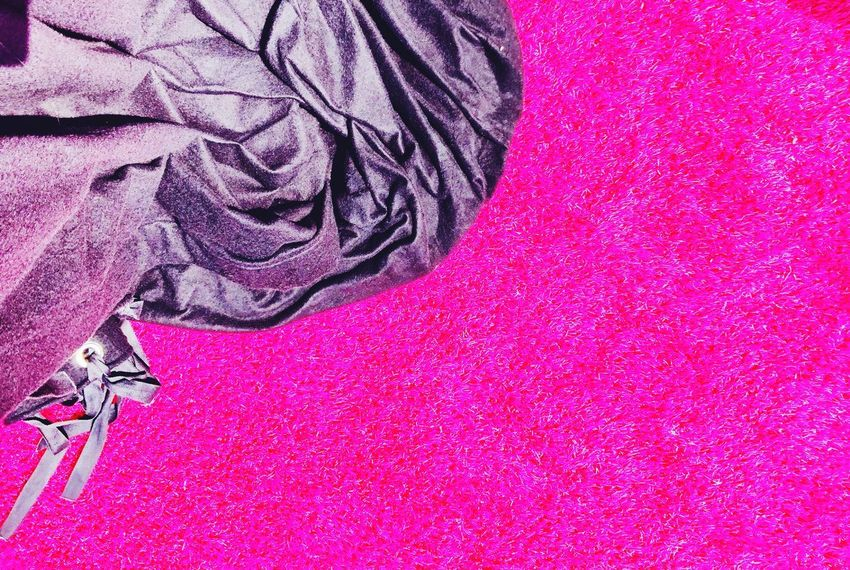 Colorsplash Color Explosion Urban Exploration Streetphoto_color Urban Urbanphotography Pink Color Textile Pattern Indoors  Close-up No People Backgrounds Creativity Full Frame Art And Craft Softness Textured  Still Life Red Crumpled Material High Angle View Purple