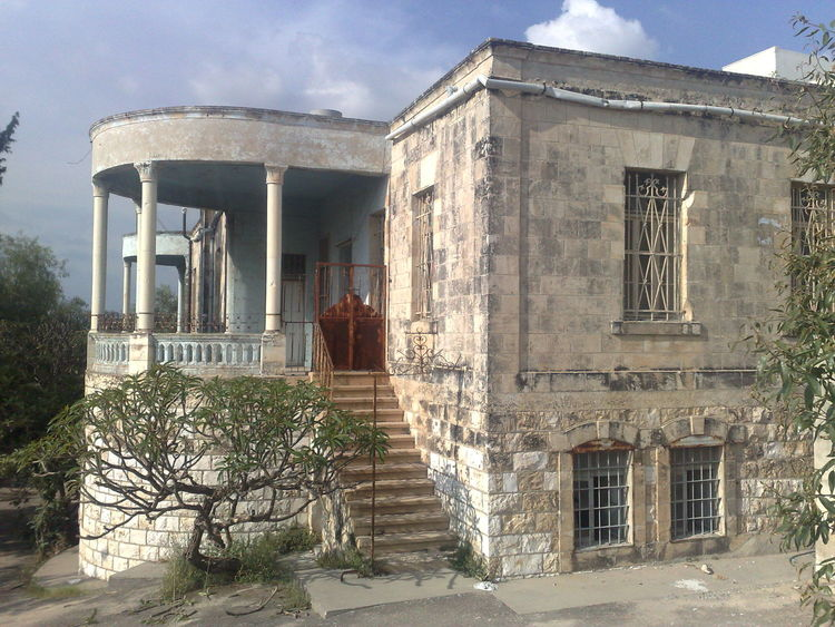 Abandoned Architecture Building Exterior Built Structure Early 20th Century Architecture Large House Palestine Tulkarm