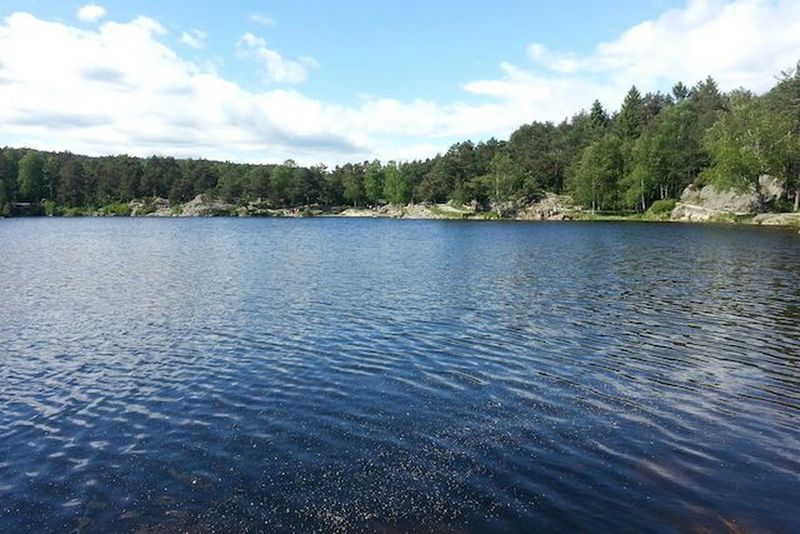 Calm Distant Kristiansand Lake Lake View Lakeshore Landscape Nature Norway Outdoors Pond Reflection Rippled River Riverbank Scenics Standing Water Tranquil Scene Tree Tropical Climate Vacation Voyage Water Waterfront Woods