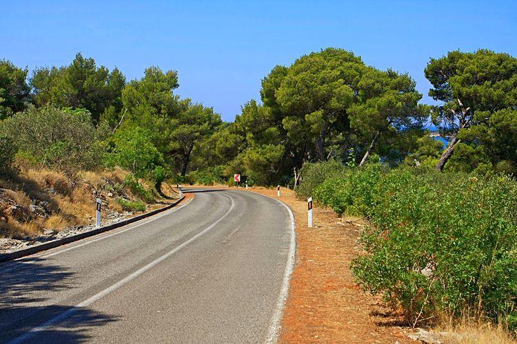 Curveing road