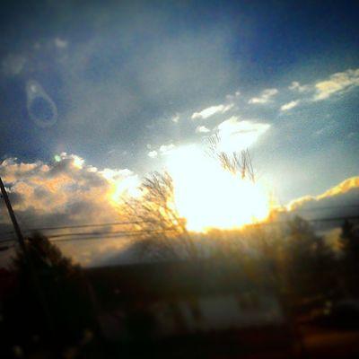 Igerspennsylvania Ig_pennsylvania Earthporr Earth sunset clouds paradise dubc eastcoast pennsylvania perception