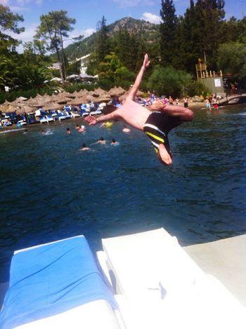 Skin Diving Sea Life Feeling Freedom