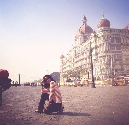 Like a pro! Tajmahalhotel Gateofindia Mumbai Colaba
