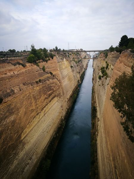 Greece Corinth Canal Corinth Greece Canal Greece Canal Finding New Frontiers