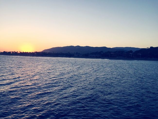 Ventura Pier Ventura Beach Sunset Beautiful Day Beautiful Sunset Summer2015 Pacific Ocean
