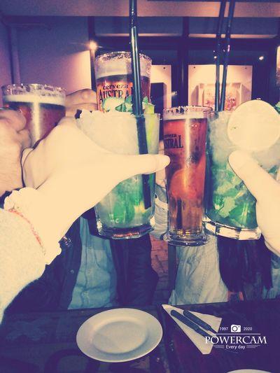 Drinking Friends Mojito Beer Chile♥ BarrioBellavista Santiago De Chile Salud! Cero Alcohol