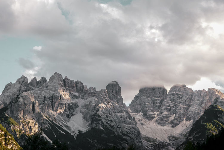 Monte Cristallo Outdoors Majestic Hiking Dolomites, Italy Alpine Alpine Landscape Summer Travel Sunlight And Shadow Dolomites Environment Tranquility Scenics Idyllic Tree Mountain Pinaceae Pine Tree Forest Sky Cloud - Sky Mountain Peak Rock Formation Valley Non-urban Scene Calm Tranquil Scene