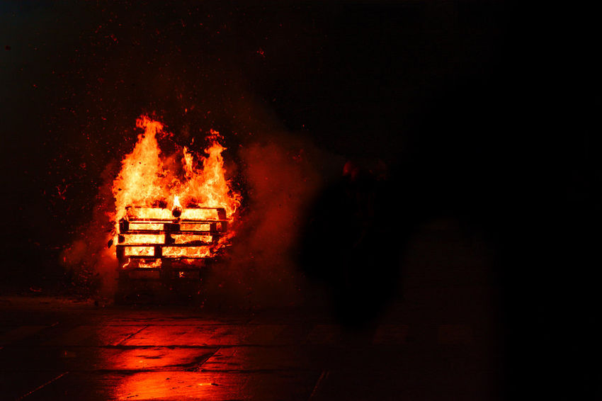 #photos #picture #photograph #pic #fotografia #instaphoto #camera #color Night Heat - Temperature Flame Burning Glowing Danger Celebration Outdoors