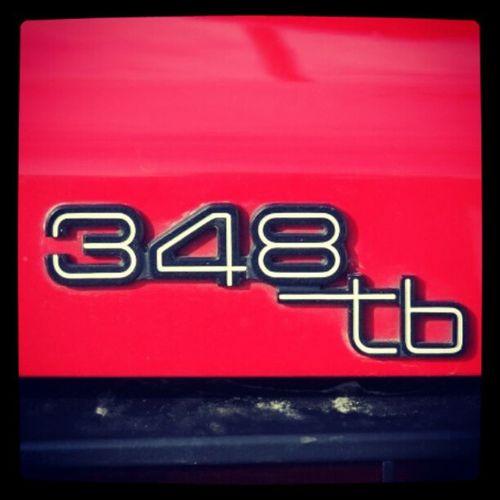 348tb 348 Ferrari Rosso corsa sportscar car exotic fredrikstad summer sun italian italy