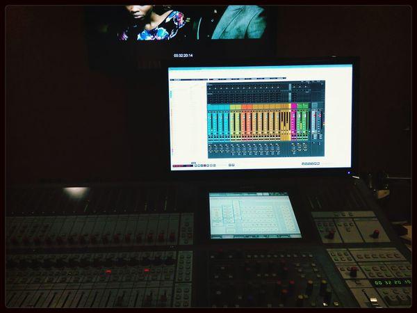 Work Audio Studio Dubbing