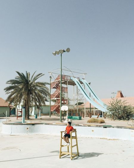 Color Palette // pastel colors in an abandoned waterpark// Abandoned Places Urbanphotography Urbex Urban Exploration IPhoneography Iphoneonly Dubai Waterpark Theme Park
