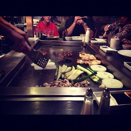 Teppanyaki at Tokyo Steakhouse Foodorgasm Happybelly