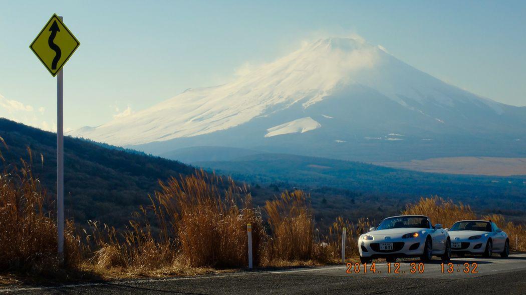 Mt.FUJI & Miata Bros MazdaMaita Roadster Mt Fuji