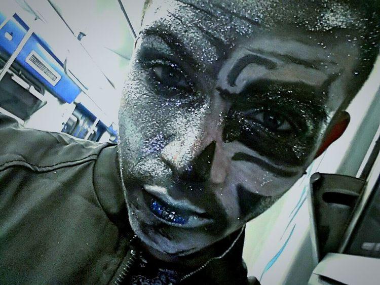 Makeup Artisticmakeup Artist Boy Halloween Twink Swarovski Cristal Carneval Carnevale
