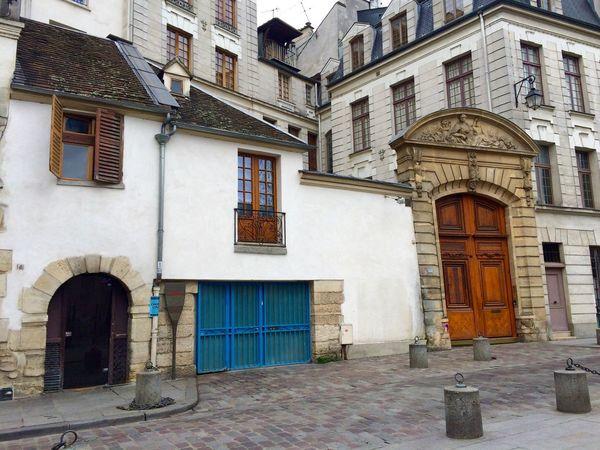 Architecture Building Exterior City City Life Cobblestones Entrance France Latin Quarter No People Paris, France