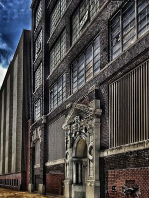 Cleveland Strong Built Structure Architecture Building Exterior Building Low Angle View No People Day Travel Destinations Metal Pattern City Nature Outdoors Travel The Past Sky History Sunlight Security Architectural Column