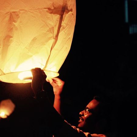 Dis Diwali burn ur EGO's insted of Crackers Lamp Of Life Eco Friendly Diwali 2015  Sky Lamps Canon Sunny_Frames