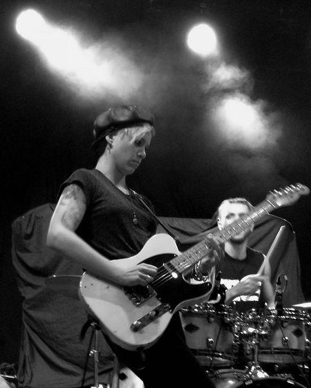 Bones at SWX club, Bristol Music Performance Musician Black & White Electric Guitar Live Event Rock Music Popular Music Concert Microphone Rock Band Concert