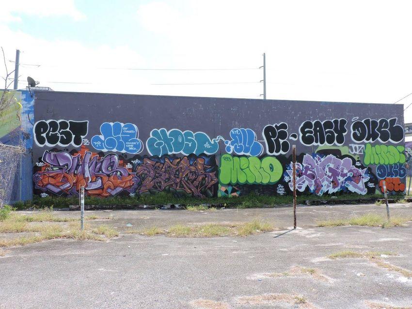 Joker Street Art Miami Street Art/Graffiti Miami Street Art 305 Art q Ink