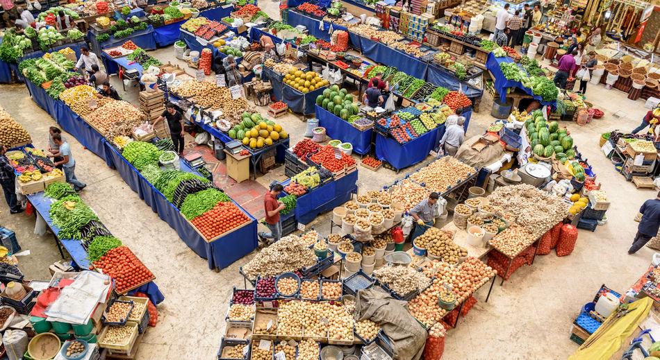 Melike Hatun Bazaar or kadinlar pazari(Women Bazaar) that is a traditional Turkish grocery bazaar where people buy Vegetables, fruits and spices in Konya,Turkey Konya Kadınlar Pazarı Bazaar Pazar Turkey Women Agriculture, Apple, Basket, Bazaar, Buy, Colorful, Food, Fresh, Fruit, Fruits, Grape, Green, Greengrocery, Grocery, Group, Health, Healthy, Kadinlar, Konya, Lemon, Market, Marketplace, Organic, Pazar, People, Produce, Raw, Red, Row, Sale, Sell, Shop, Shop