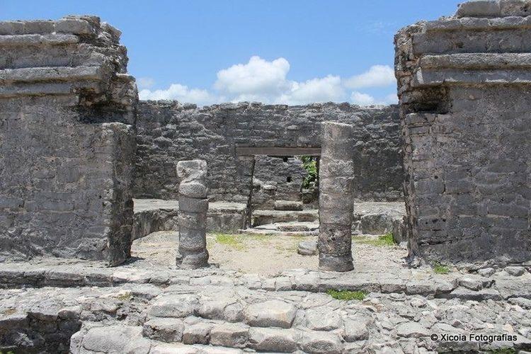 Ruinas Tulum Ruins Tulum Riveramaya Viajando Visitando