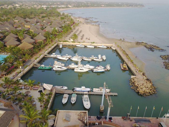 Dakar 2017 Saly Dronephotography Mavicpro High Angle View