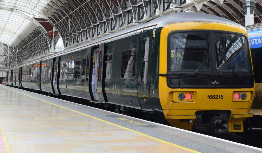 Transportation Travel Train - Vehicle Public Transportation Railroad Station Platform Mode Of Transport Railroad Station Rail Transportation No People City Indoors  Subway Train Day Travel London Paddington Trainspotting Travelling Photography Train Trainstation Travel Photography Traveling Transportation Class 165 First Great Western Greatwesternrailway