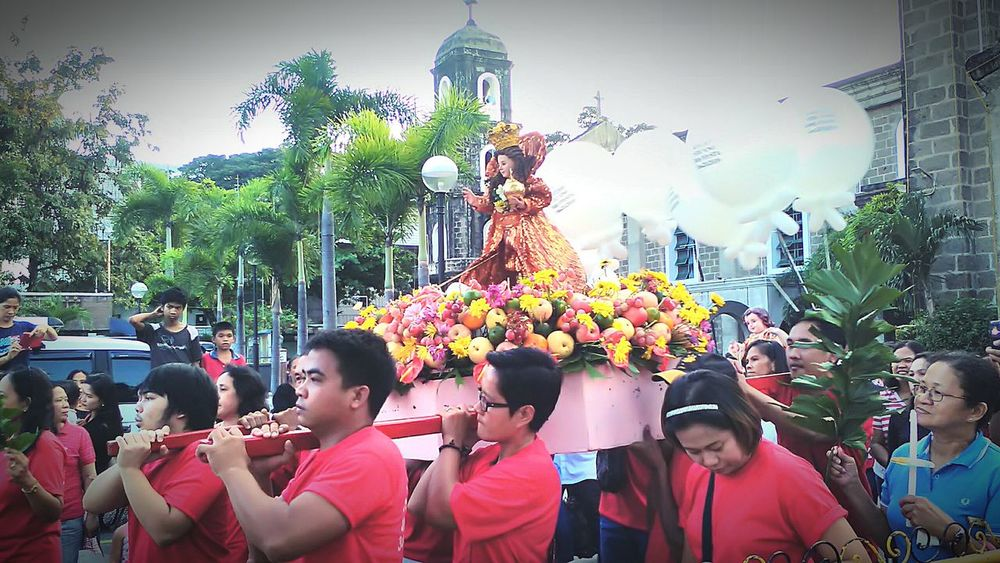 BLESSED SUNDAY AND GODBLESS VIVA STO.NINO Eyeem Philippines Philippines More Fun In The Philippines  Festival Fiesta EyeEm