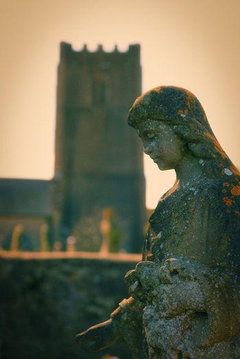 All Saints Church, Highweek in Devon Statue All Saints  Devon Highweek