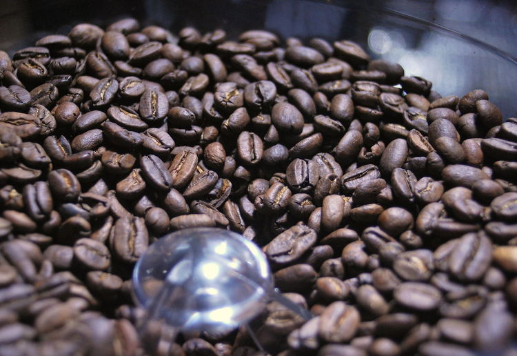 Coffee Close-up Coffee Bean Day Food And Drink Freshness Indoors  Large Group Of Objects No People Raw Coffee Bean Roasted Coffee Bean Selective Focus