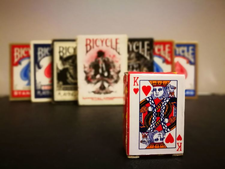 The Magic Mission Bicycle Deck Card Magic Club Tattoo Tiger Karnival